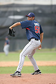March 20th 2008:  Jeanmar Gomez of the Cleveland Indians minor league system during Spring Training at Chain of Lakes Training Complex in Winter Haven, FL.  Photo by:  Mike Janes/Four Seam Images
