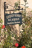 E Jacquelin Vaudoisey. The village. Pommard, Cote de Beaune, d'Or, Burgundy, France