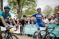 Julian ALAPHILIPPE (FRA/Deceuninck-Quick Step) wins his 2nd, consecutive Flèche up the infamous Mur de Huy<br /> <br /> 83rd La Flèche Wallonne 2019 (1.UWT)<br /> One day race from Ans to Mur de Huy (BEL/195km)<br /> <br /> ©kramon