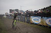 Sven Nys (BEL/Crelan-AAdrinks)<br /> <br /> Noordzeecross - Middelkerke 2016
