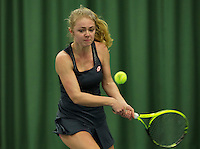 Rotterdam, The Netherlands, March 19, 2016,  TV Victoria, NOJK 14/18 years, Laura Rijkers (NED)<br /> Photo: Tennisimages/Henk Koster