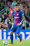 Jose Paulo Bezerra Maciel Junior, Paulinho, of FC Barcelona in action during the La Liga 2017-18 match between FC Barcelona and SD Eibar at Camp Nou on 19 September 2017 in Barcelona, Spain. Photo by Vicens Gimenez / Power Sport Images