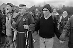 Avebury Wiltshire, Druids a ritual sacred circle 1996.