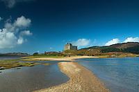 Castle Tioram and Loch Moidart, Doirlinn, Moidart, Lochaber
