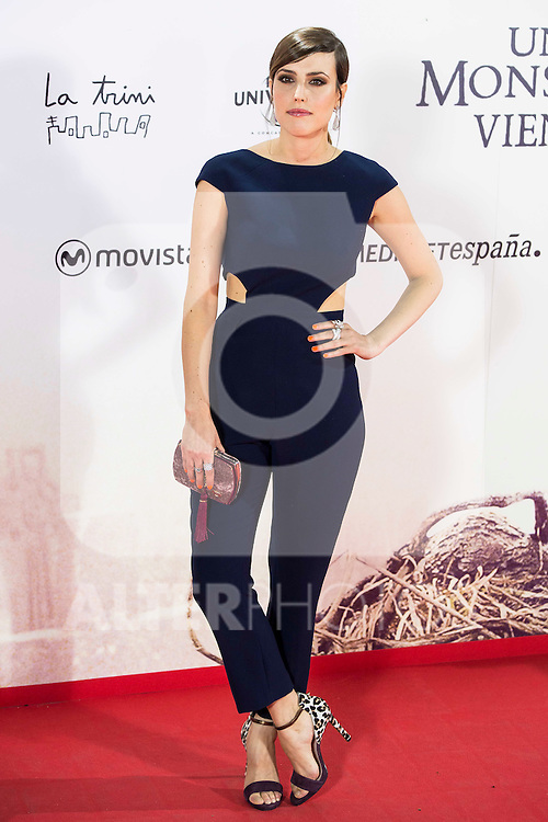 """Natalia de Molina  during the premiere of the spanish film """"Un Monstruo Viene a Verme"""" of J.A. Bayona at Teatro Real in Madrid. September 26, 2016. (ALTERPHOTOS/Borja B.Hojas)"""