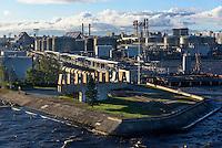 Hafen von St. Petersburg, Russland