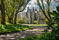 """BNPS.co.uk (01202) 558833. <br /> Pic: KnightFrank/BNPS<br /> <br /> Pictured: Kilberry Castle. <br /> <br /> A castle that was burnt down by a pirate, involved in the English Civil War and has been in the same family for five centuries is on the market for offers over £650,000.<br /> <br /> Kilberry Castle, which dates back to the 15th century, has an incredible history and still has a wealth of original features including a 288-year-old mausoleum.<br /> <br /> It sits in 21 acres of land on the Scottish west coast, with stunning views over Kilberry Bay and out to the islands of Islay, Jura and Gigha.<br /> <br /> The four-storey tower house now needs a buyer """"with deep pockets and great imagination"""" to carry out a complete refurbishment but it has a lot of potential."""