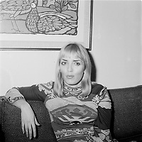 La celebre prostituee et Madame ;  Xaviera Holllander<br /> <br /> ,date inconnnue<br /> <br /> PHOTO : Agence Quebec Presse - Roland Lachance