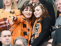 15/05/2010   Copyright  Pic : James Stewart.sct_js035_ross_county_v_dundee_utd  .:: TV CELEBRITY LORRAINE KELLY WITH HER DAUGHTER ROSIE WATCHES AS HER TEAM, DUNDEE UTD, LIFT THE SCOTTISH CUP ::  .James Stewart Photography 19 Carronlea Drive, Falkirk. FK2 8DN      Vat Reg No. 607 6932 25.Telephone      : +44 (0)1324 570291 .Mobile              : +44 (0)7721 416997.E-mail  :  jim@jspa.co.uk.If you require further information then contact Jim Stewart on any of the numbers above.........