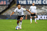 Korey Smith of Swansea City during the Sky Bet Championship match between Swansea City and Cardiff City at the Liberty Stadium in Swansea, Wales, UK. Saturday 20 March 2021