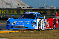 #01 Chip Ganassi Racing with Felix Sabates BMW/Riley of Scott Pruett, Memo Rojas, Graham Rahal and Joey Hand.