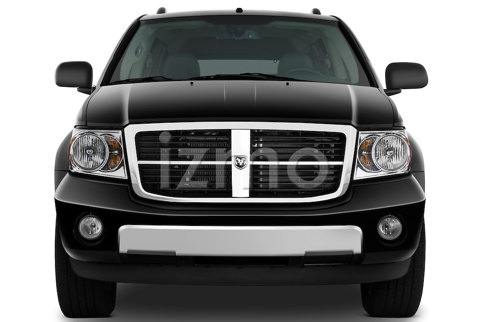 Straight front view of a 2009 Dodge Durango Hybrid