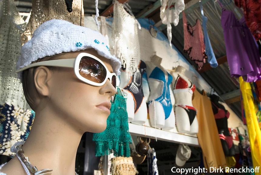Dominikanische Republik, Geschäft am Strand in Sosua