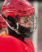 Bobo Carpenter (BU - 14) - The Boston University Terriers practiced on the rink at Fenway Park on Friday, January 6, 2017.The Boston University Terriers practiced on the rink at Fenway Park on Friday, January 6, 2017.