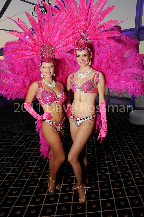 """Katie Ellis and Shauna Sacco at the San Luis Salute """"Space Pirates"""" VIP reception Friday February 24,2017. (Dave Rossman Photo)"""
