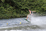 September 12, 2014:  Scenes from the WWA Wakeboard World Championships at Mills Pond Park in Fort Lauderdale, FL.  Amateur Wakeskate. Jake Kappler USA finishes 2nd in the event.  Liz Lamont/ESW/CSM