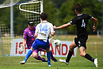NELSON, NEW ZEALAND - FEBRUARY 2: Handa Premiership - Tasman Utd v Hawkes Bay. Sunday 2 February 2020. Saxton Field, Richmond, New Zealand. (Photo by Chris Symes/Shuttersport Limited)