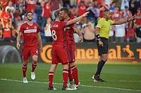 Bridgeview, IL - Saturday, July 01, 2017: The Chicago fire played the Vancouver Whitecaps in a Major League Soccer (MLS) game at Toyota Park.
