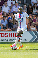 Hiram Boateng of Crystal Palace during the Friendly match between Barnet and Crystal Palace at The Hive, London, England on 11 July 2015. Photo by David Horn.