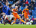 DUNDEE UTD'S JOHNNY RUSSELL SCORES THE SECOND