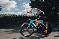 6th October 2021 Womens Cycling Tour, Stage 3. Individual Time Trial; Atherstone to Atherstone. Joscelin Lowden.