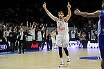 Real Madrid´s Andres Nocioni during 2014-15 Euroleague Basketball Playoffs second match between Real Madrid and Anadolu Efes at Palacio de los Deportes stadium in Madrid, Spain. April 17, 2015. (ALTERPHOTOS/Luis Fernandez)