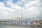 The peloton during Stage 8 of the 2015 Presidential Tour of Turkey running 124km from Istanbul to Istanbul. 3rd May 2015.<br /> Photo: Tour of Turkey/Mario Stiehl/www.newsfile.ie