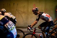 Brent Van Moer (BEL/Lotto Soudal)<br /> <br /> 73rd Critérium du Dauphiné 2021 (2.UWT)<br /> Stage 6 from Loriol-sur-Drome to Le Sappey-en-Chartreuse (167km)<br /> <br /> ©kramon
