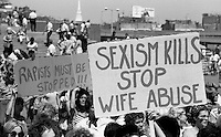 Women's Suffrage Day Rally at Boston City Hall Plaza Boston MA 8.26.76