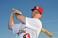 Mar 01, 2010; Jupiter, FL, USA; St. Louis Cardinals  infielder Mark Hamilton (83) during  photoday at Roger Dean Stadium. Mandatory Credit: Tomasso De Rosa/ Four Seam Images