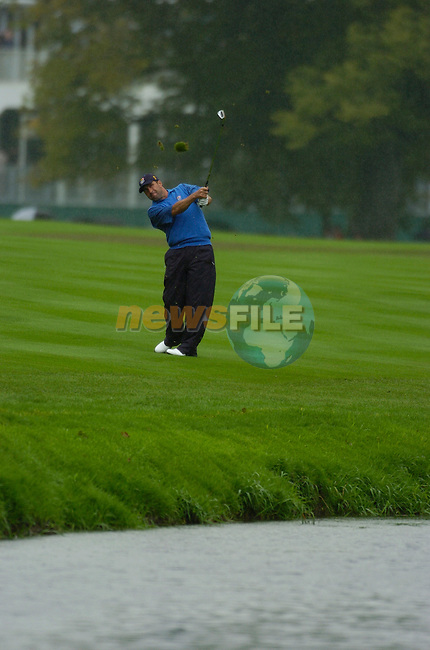 Ryder Cup K Club Straffin Co Kildare..European Ryder Cup Team player Jose Maria Olazabal on the 17th fairway during the morning fourball session of the second day of the 2006 Ryder Cup at the K Club in Straffan, County Kildare, in the Republic of Ireland, 23 September, 2006..Photo: Barry Cronin/ Newsfile.