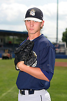 Mahoning Valley Scrappers Josh Tomlin poses for a photo before a NY-Penn League game at Dwyer Stadium on July 30, 2006 in Batavia, New York.  (Mike Janes/Four Seam Images)