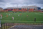 Queen's Park 1 Alloa Athletic 0, 01/12/2007. Hampden Park, Scottish League Two. Queen's Park third XI  take on Central Juniors in a Scottish Amateur Cup tie at at the club's Lesser Hampden ground - adjacent to the Hampden Park - home of Queen's Park and Scotland. Queen's Park, founded in1867, are currently trying to become only the third FIFA Order of Merit club after Real Madrid and Sheffield FC. Photo by Colin McPherson.