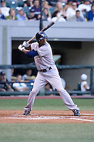 July 15, 2009: Scranton-Wilkes Barre Yankees' Austin Jackson at-bat during the 2009 Triple-A All-Star Game at PGE Park in Portland, Oregon.