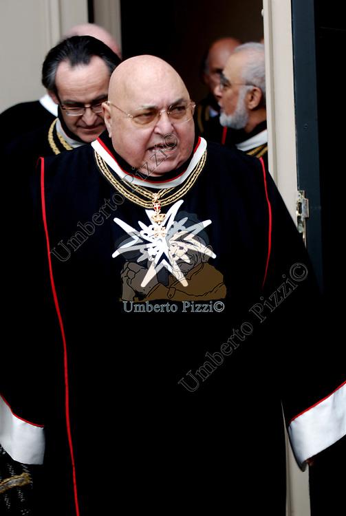 S.E. ANTONIO SANCHEZ-COREA DELL'ORDINE DI MALTA<br /> ROMA 2008