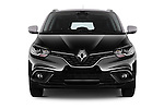 Car photography straight front view of a 2017 Renault Grand-Scenic Bose-Edition 5 Door Minivan Front View