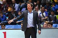 Trainer Frank Menz (Basketball Löwen Braunschweig) - 12.03.2017: Fraport Skyliners vs. Basketball Löwen Braunschweig, Fraport Arena Frankfurt