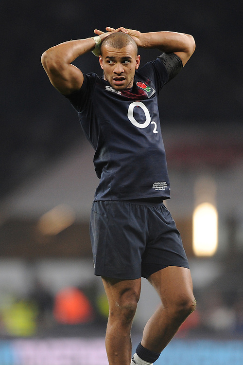 Jonathan Joseph of England during the Old Mutual Wealth Series match between England and Argentina at Twickenham Stadium on Saturday 26th November 2016 (Photo by Rob Munro)