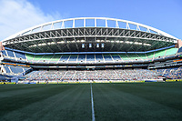 Seattle, WA - Thursday July 27, 2017: CenturyLink Field during a 2017 Tournament of Nations match between the women's national teams of the Japan (JAP) and Brazil (BRA) at CenturyLink Field.