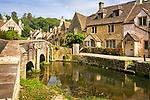 The Bridge, Castle Combe, Wiltshire, UK