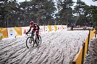 Jelle Camps (BEL/Pauwels Sauzen-Bingoal)<br /> <br /> Elite Men's Race<br /> Zilvermeercross Mol (BEL) 2021<br /> <br /> ©Kramon