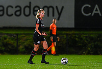 Amber Bert (10) of Zulte-Waregem pictured during a female soccer game between Sporting Charleroi and SV Zulte-Waregem on the 12 th matchday of the 2020 - 2021 season of Belgian Scooore Womens Super League , friday 29 th of January 2021  in Marcinelle , Belgium . PHOTO SPORTPIX.BE | SPP | DAVID CATRY