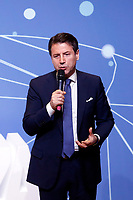 Giuseppe Conte<br /> Rome January 22nd 2019. Convention of the Movement 5 Stars party to explain the Basic Income Law just approved.<br /> Foto Samantha Zucchi Insidefoto