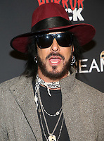 HOLLYWOOD, CA - OCTOBER 12: Nikki Sixx, at the 21st Screamfest Opening Night Screening Of The Retaliators at Mann Chinese 6 Theatre in Hollywood, California on October 12, 2021. Credit: Faye Sadou/MediaPunch
