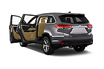 Car images of 2018 Toyota Highlander LE-Plus 5 Door SUV Doors