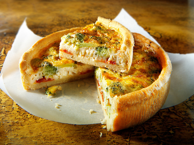 Broccoli quiche