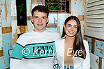 Enjoying the evening in Molly J's on Thursday, l to r: Darragh Shanahan and Emma Casey from Ballyduff.