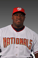 14 March 2008: ..Portrait of Chris Booker, Washington Nationals Minor League player at Spring Training Camp 2008..Mandatory Photo Credit: Ed Wolfstein Photo