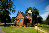 Photography of the St. Mary's Chapel in Charlotte,North Carolina.<br /> <br /> Charlotte Photographer - PatrickSchneiderPhoto.com