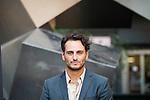 "Asier Etxeandia during the presentation of the spanish film "" La Puerta Abierta"" in Madrid. August 31, Spain. 2016. (ALTERPHOTOS/BorjaB.Hojas)"